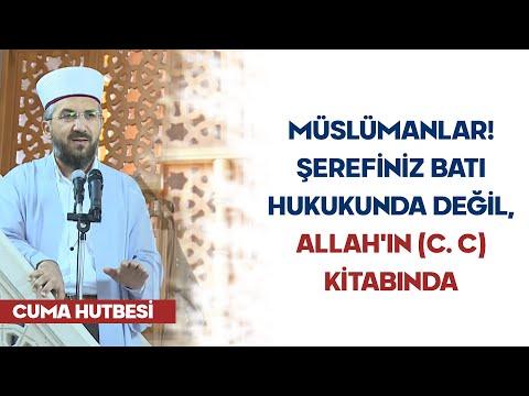 (H195) Müslümanlar! Şerefiniz Batı Hukukunda Değil, Allah ın (c. c) Kitabında