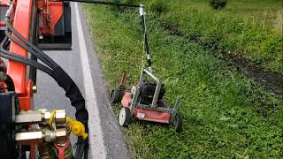 Homebrew Ditch Mower Project
