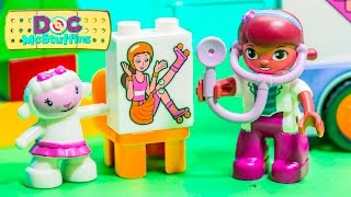 The Doc MC Stuffins Lego Duplo Play Set with Rosie the Ambulance Toys