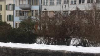 スイス発 散歩道から見たレンツブルク城【スイス情報.com】