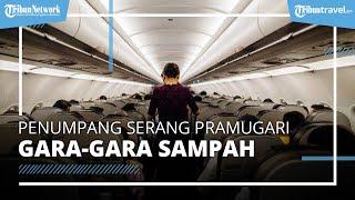 Gara-gara Sampah, Penumpang Ini Memukul dan Menjambak Rambut Pramugari di Pesawat