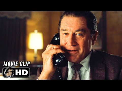 THE IRISHMAN Clip - Call (2019) Netflix