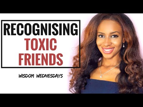 Recognizing Toxic Friends by Dephne Madyara