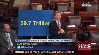 EPIC RANT: Rand Paul Challenges Republicans to Actually Be Conservative