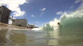 preview picture of video 'B-SURF'N, KAANAPALI 2011'