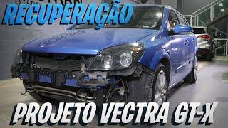 Projeto Vectra GT X Recuperação Pintura