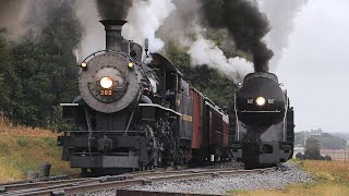 N&W 611 and 382: The Last Days of Steam