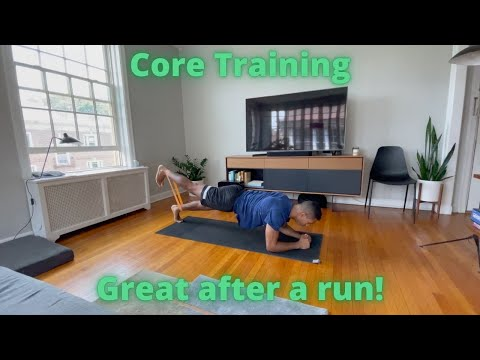 Workout video for Mini-Band Core Training