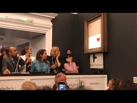 Banksy's Self Shredding Artwork