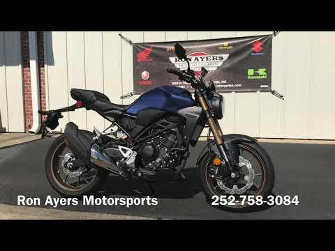2020 Honda CB300R ABS in Greenville, North Carolina - Video 1