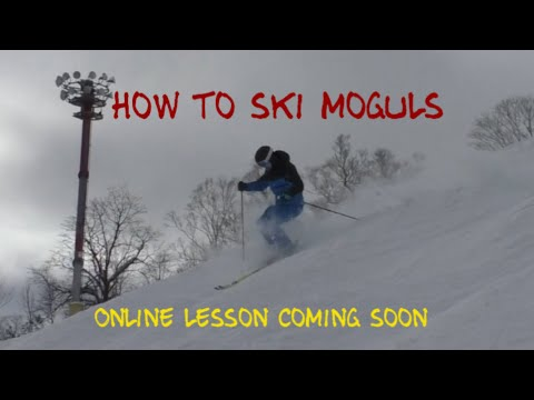 Mogul lesson for skiing big bumps- coming soon