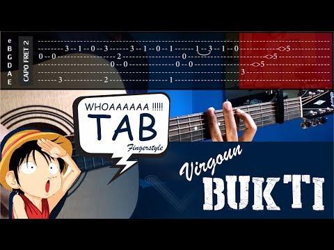 , title : 'Virgoun - Bukti - Cover (Fingerstyle Cover) + TABS Tutorial (Tab Untuk Belajar) by vvxo'