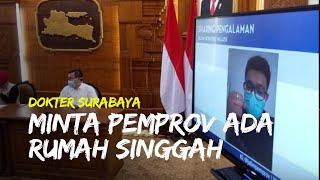 Khawatir Keluarga Tertular Covide-19, Dokter di Surabaya Minta Rumah Singgah Sementara