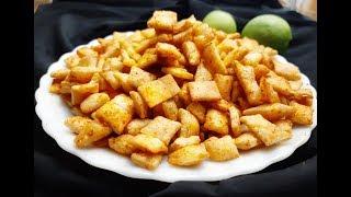 Diwali Recipes - Suji Ke Kurkure Namkeen Banane Ka Tarika | Crispy Suji Masala Namkeen