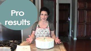 Wedding Dress Cake (how To Decorate) - Renee Romeo