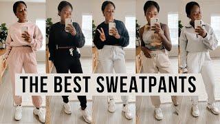 BATTLE OF THE SWEATPANTS | Walmart, PLT, Missguided, Urban Outfitters, Aritzia - Davina Donkor