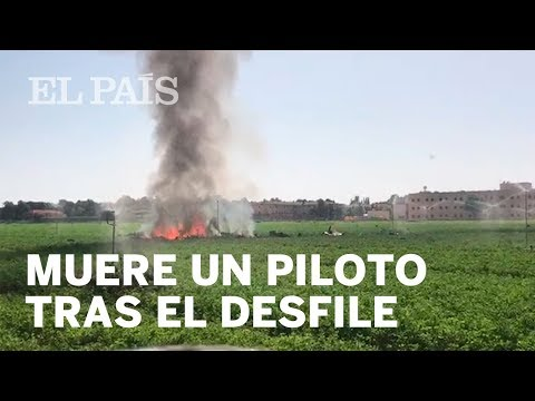 Muere piloto español