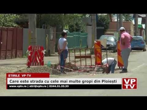 Care este strada cu cele mai multe gropi din Ploiești