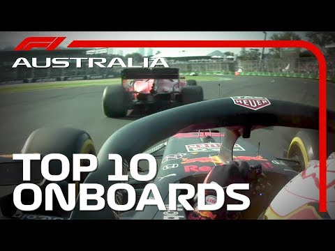 Top 10 Onboards: 2019 Australian Grand Prix