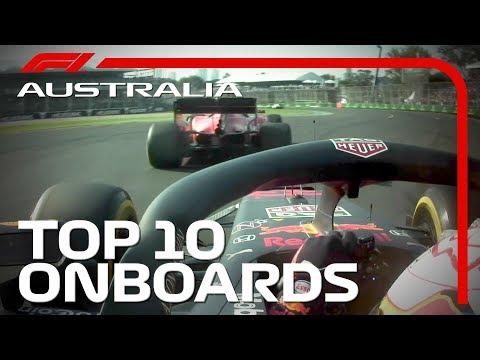 Top 10 Onboards: 2019 Australian Grand Prix