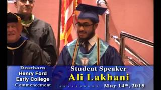 Henry Ford Early College 2015 Graduation