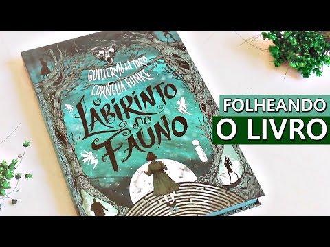 FOLHEANDO O LIVRO 'O LABIRINTO DO FAUNO' - #VEDA 22 | Amiga da Leitora