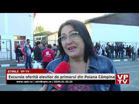 Excursie oferită elevilor de primarul din Poiana Câmpina
