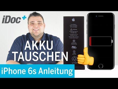 iPhone 6s – Akku tauschen [Reparaturanleitung]