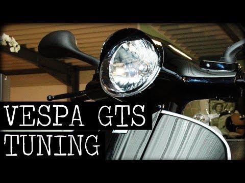 Piaggio Vespa GTS Tuning