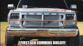 BUILDING A FIRST GEN CUMMINS IN 10 MINUTES!!!