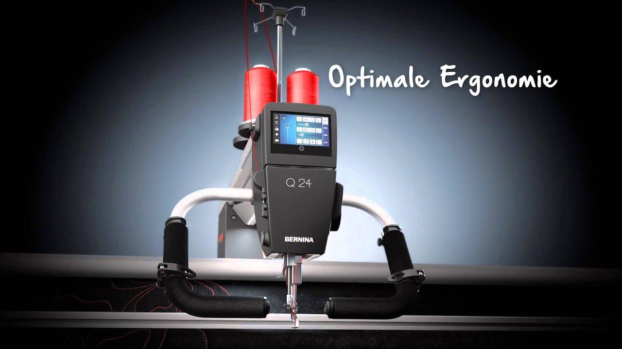 Einführung der BERNINA Q 20 und Q 24 Langarm Quilting Maschine