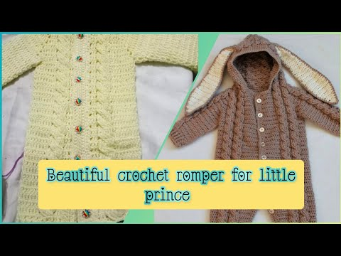 Crochet Romper for babies