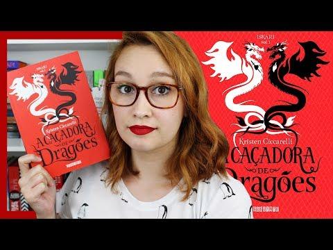 A Caçadora de Dragões (Kristen Cicarelli)   Resenhando Sonhos