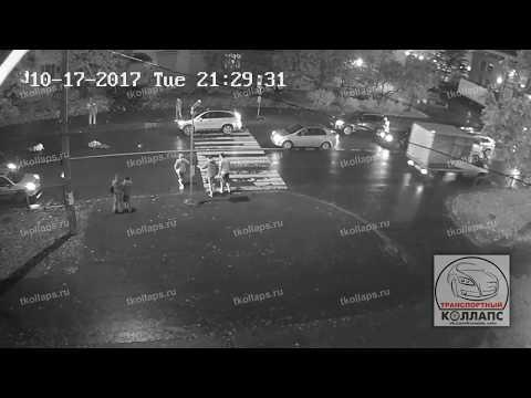В Красном Селе жестко сбили двух пешеходов на переходе
