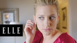 Lili Reinhart Gets Ready for the 2018 Met Gala with ELLE - dooclip.me