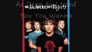 The All-American Rejects (Featuring The Pierces) Another Heart Calls With Lyrics