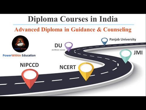 Advance Diploma in Counselling & Guidance in India   Career Options in Psychology 2020   Hindi