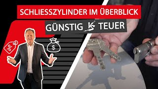 Haustür Schließzylinder/Türschloss - Wie sicher willst du wohnen?