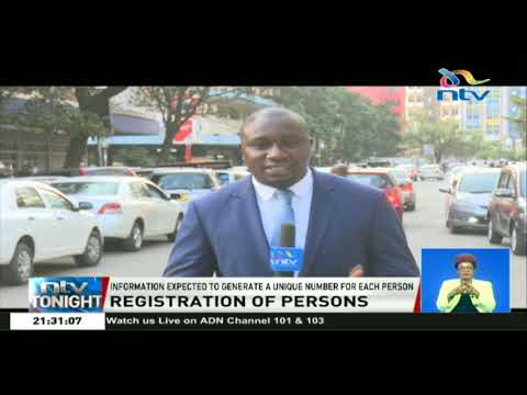 Government compiling information on Kenyans, foreigners residing in the country