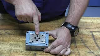 Hydraulique - Bloc distributeur