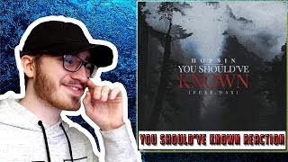 """Hopsin """"You Should've Known"""" (feat. Dax)   REACTIONREVIEW"""