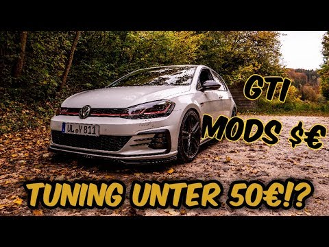 TUNING UNTER 50€?! GOLF 7 GTI FACELIFT Mods - bCreative