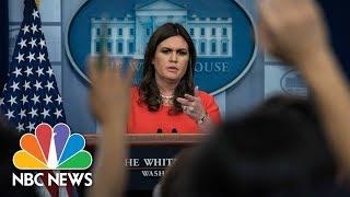 White House Press Briefing - November 20, 2017 (Full) | NBC News