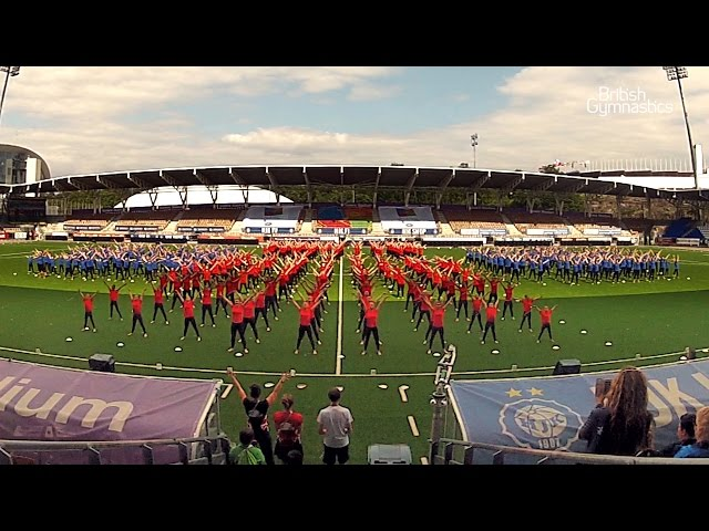 2015 Gymnaestrada - The biggest gymnastics event in the world!