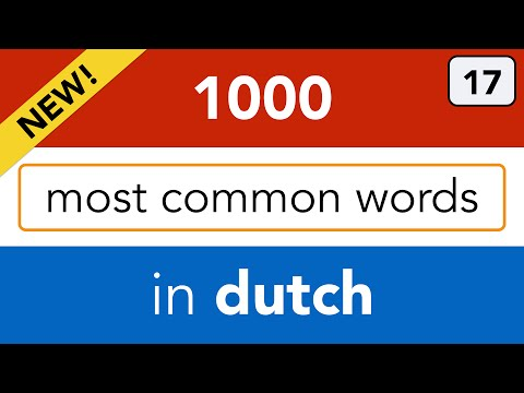How do the Dutch dress? Learn to say in Dutch: the names of clothes!