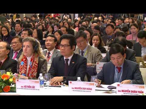 Diễn đàn kinh tế Việt nam 2018 P2 0