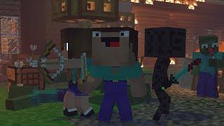 Skyblock War: Part 1 - Minecraft Animation | Noob & Brothes Series