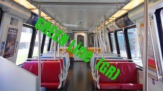 🚇/💺 WMATA Metrorail: Green Line (GR) to Branch Avenue... FULL RIDE!