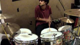 """bicycle race"" by queen. drum cover by miles frank"