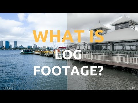 What is LOG or Flat Footage?